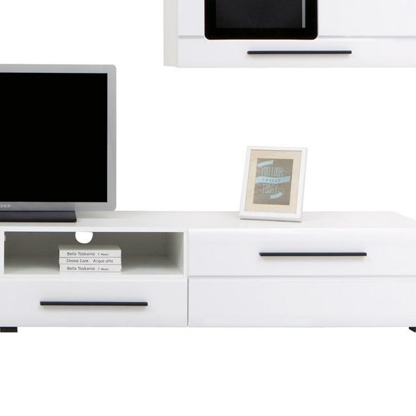Living Room Furniture Set Glass Cabinet Cupboard Tv Unit