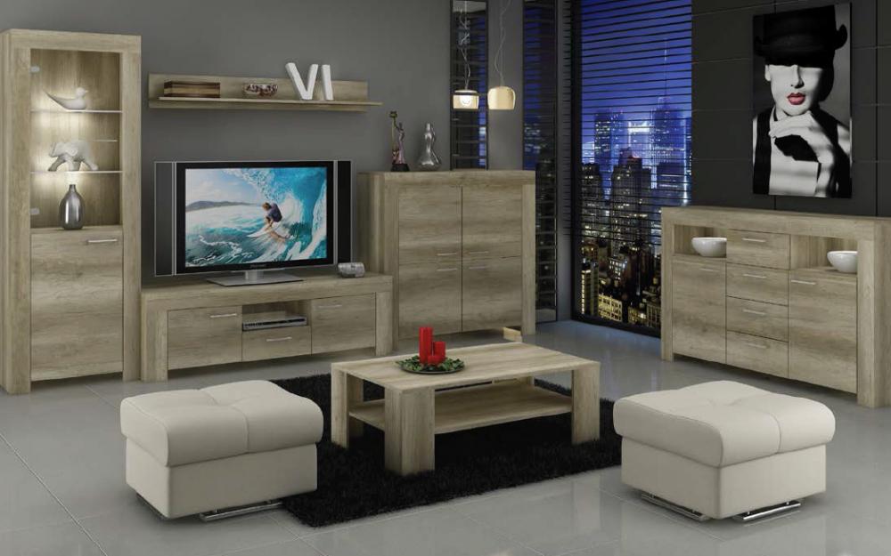 Living Room Furniture Set Glass Cabinet TV Unit Stand Display LED Lights Shelf   EBay