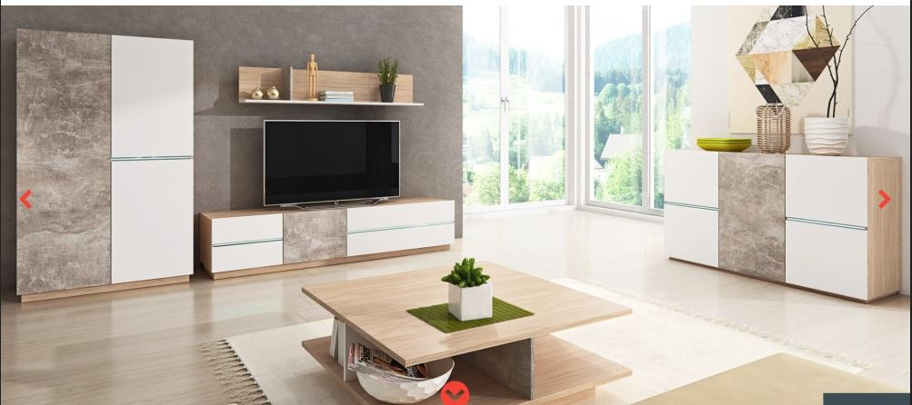 Living Room Furniture Display Tv Cabinet Unit Wall Mounted Floor